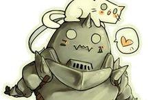 Fullmetal Alchemist fanarts