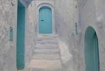 Doors, gates, stoops and entrances