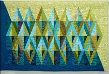 Quilts / Altho I'm not a quilter I appreciate them as an art form and love the color, texture, movement, rhythm and symmetry.