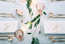Decoración de mesas y comedor / Wedding decoration / Wedding table decoration