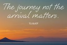 Travel Mantras / Mantra's to cruise by - keep the travel spark alive!