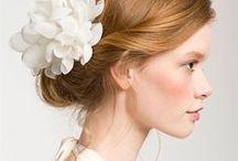 Peinados de novia / Bride hairdos / Bride hairdos, hairstyle, wedding hairstyle