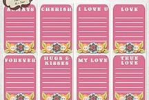 Sweet Days Journal Cards