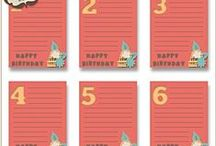 Story of Life Birthday Cards
