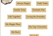 Story of Life Word Strips
