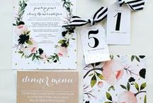 Papelería / Stationary / Wedding stationary