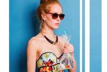 Stella Jean SS 15 | Beachwear Lookbook / Photography Lucia Moretti Pictures Hair/Make-Up Francesca Petrangeli Model Vanessa (Euphoria Fashion Agency)