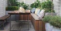 Garden Inspiration / Garden style and DIY ideas to make your outside space, just as inviting as your interior.