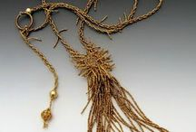 ~ tassels and fringe ~ / I love tassels! I love fringe! They make me happy for some reason! I have been making them in my jewelry since 1975! They have a life all their own!