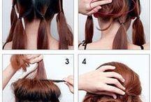 Peinados / diferentes peinados, trenzas y recogidos
