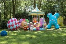 The Night Garden at Cbeebies Land / You're able to take your children for a walk around the Night Garden at Cbeebies Land - and even take a ride on Igglepiggle's boat!