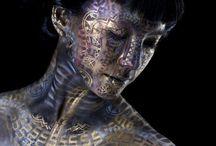 Airbrush & Body art / Airbrush, make up, body art, gorgeousness.