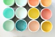 Color inspiration / colors and combinations we love