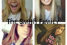 ~The Smith Family~ / Hey guys this is role play! 1 rule: nothing inappropriate. Ty! Please invite people, I want this board to be active! My face claim is Ali simpson!  HAVE FUN!!!!