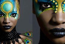 Make up & Face art