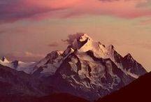 high above / mountain paths