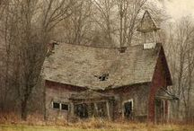 abandoned places / left behind and lost forever
