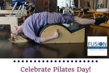 Pilates Day 2015 / FusionPilatesEDU.com celebrated Pilates Day 2015 with a photo contest! Thank you to everyone who shared photos of Pilates studios, clients, props, and exercises!