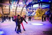 Alquiler pista de hielo / Napapiri, especialistas en alquiler de pista de hielo, te trae las mejores imáginas sobre patinajes sobre hielo. http://www.pistadehielo.com/es/