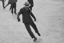 History & Ice Skating / Napapiri, como especialista en el alquiler pistas de hielo, te ofrece los mejores fotografías de este tradicional deporte y entretenimiento de invierno. http://www.pistadehielo.com/es/