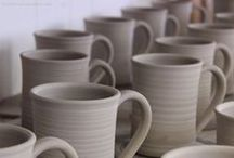 Drinking Vessels / Handmade pottery that you drink from.