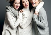 Group poses women