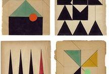 pattern / stripes, spots, geometric shapes in design