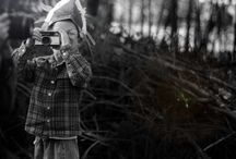 <  camera crew  > / kids with camera's, real, vintage, toys...
