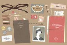 chocolate packaging / slick branding