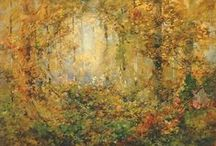 Autumn / Artwork from the Smithsonian American Art Museum collection with a fall feeling!