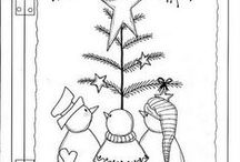 Clip Art, Stencils, Patterns for Purchase / by Marie Grubbs