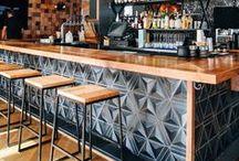 Restaurants and Bars / Interior designs