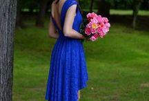 Blue Fashion Look