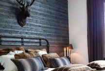 Rustic_Boudoir  / Bedroom redesign inspiration and ideas