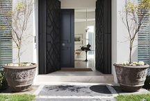 Entrance interiors