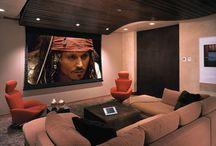 Home cinema interiors
