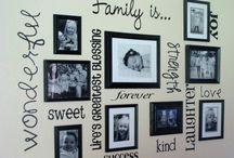 Spreading Memories For The House / Espalhando Memórias Pela Casa Spreading Memories For the House https://urbanglamourous.wordpress.com/2015/06/19/espalhando-memorias-pela-casa #Casa, #Decoração, #Família, #Family, #Fotografias, #Home, #InteriorDesign, #Photography