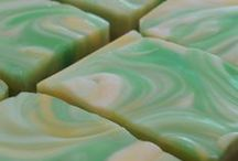 Handmade Soap / My handmade, cold process soaps are perfect for sensitive skin.  They contain no harsh detergents and produce a lovely creamy lather.