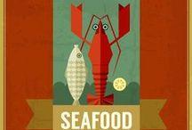 Seafood grapics