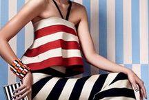 Trend | Stripes / https://urbanglamourous.wordpress.com/…/07/tendencia-riscas/ #Fashion, #Look, #Moda, #Primavera, #riscas, #Spring, #stripes, #Summer, #Tendências, #Trend, #Verão