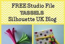 FREE Silhouette Files / Free cutting files for the Silhouette Cameo, Silhouette Portrait and Silhouette Curio