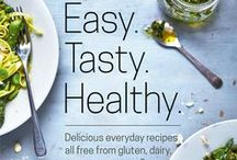 New Book Out Now! / My latest cookery book launched 19th May - new, delicious everyday recipes all free from gluten, dairy, sugar, soya eggs and yeast. Get your copy here! http://www.barbaracousins.com/easy-tasty-healthy/