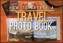 DIY TRAVEL CRAFTS / Crafts and DIY ideas for travelers; photo books, ticket stub crafts, and more!