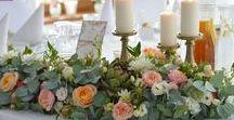 03 - wedding - peach&pink&white / Wedding Day / Wedding Flowers / ARTEMI - colors: peach / mint /  pink / white