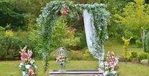 01 - wedding in the garden / Ślub / Wedding Day/ Wedding in the garden/ Ceremonia w plenerze / Dekoracje ślubne / Wedding decorations / Kwiaty / Flowers