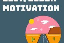 Zeit, Leben & Motivation / So machst du mehr aus deiner Zeit und deinem Leben. Schreibst besser und zufriedener.