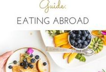 FOODIE TRAVEL / All things for the foodie traveler; food bucket lists, cooking classes, best restaurants, and more!