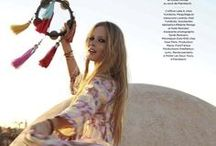 Boho Beauty  / Love the Boho style So creative and full of colour / by Louise Marie