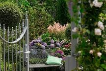 Tuin van h'EDEN / Hieronder ziet u een sfeerimpressie van de romantische Tuin van h'EDEN. Een paradijselijke sfeer met pastelkleuren, nonchalance die bijna surrealistisch is. Een kleurrijke en bonte tuin met hekjes, rozen en een landelijke tint.