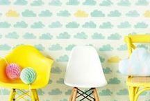 papel pintado infantil - children wallpaper / deja que desarrollen su personalidad dejando que escojan  el papel pintado de su habitación, seguro que estos os chiflan a los dos